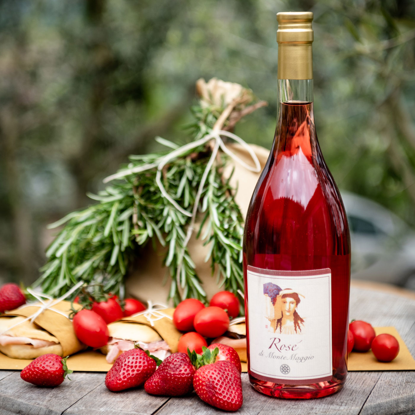 Buy Rosé di Montemaggio to complement your fish or other fried fatty dishes