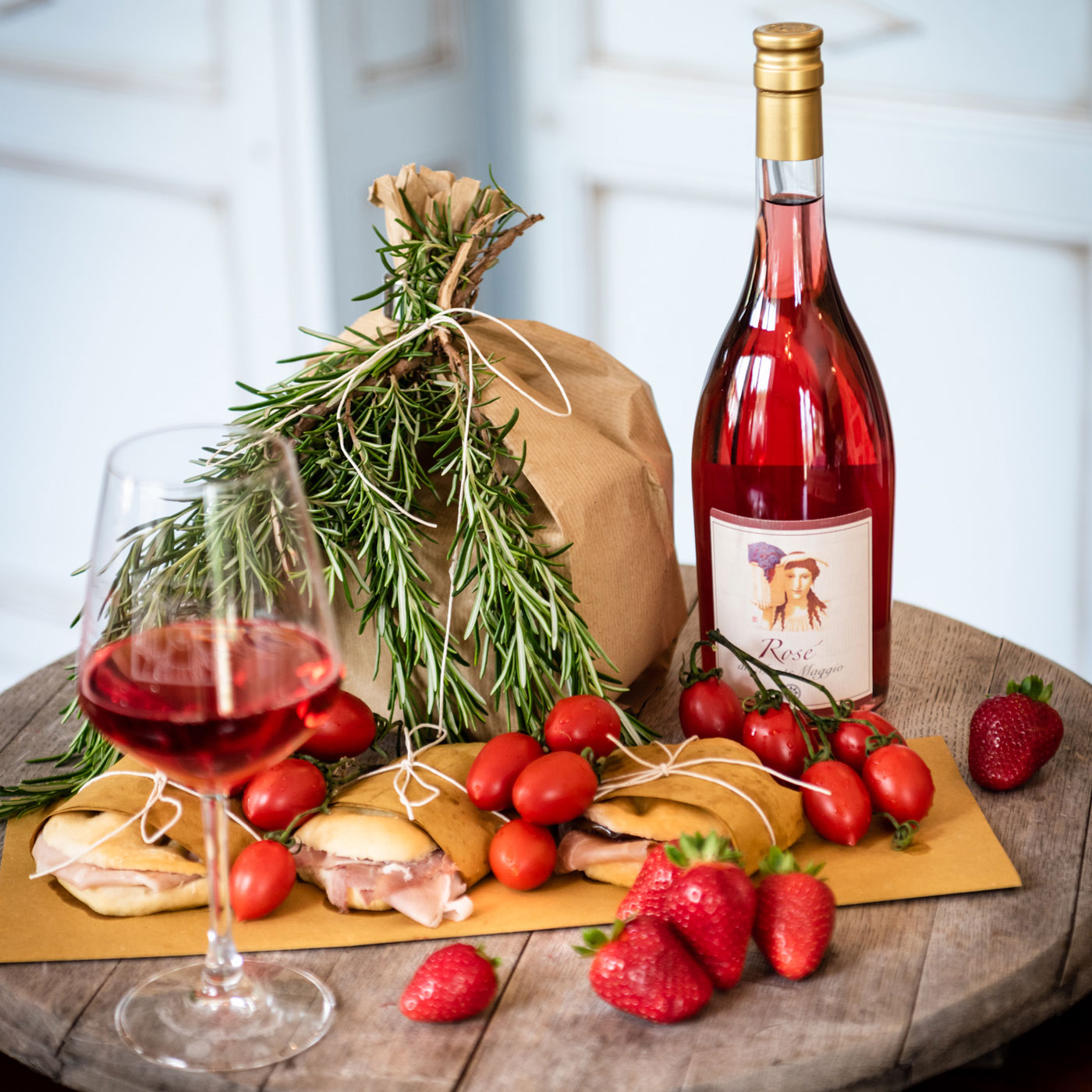 Have Rosé di Montemaggio as an aperitif - order yours today