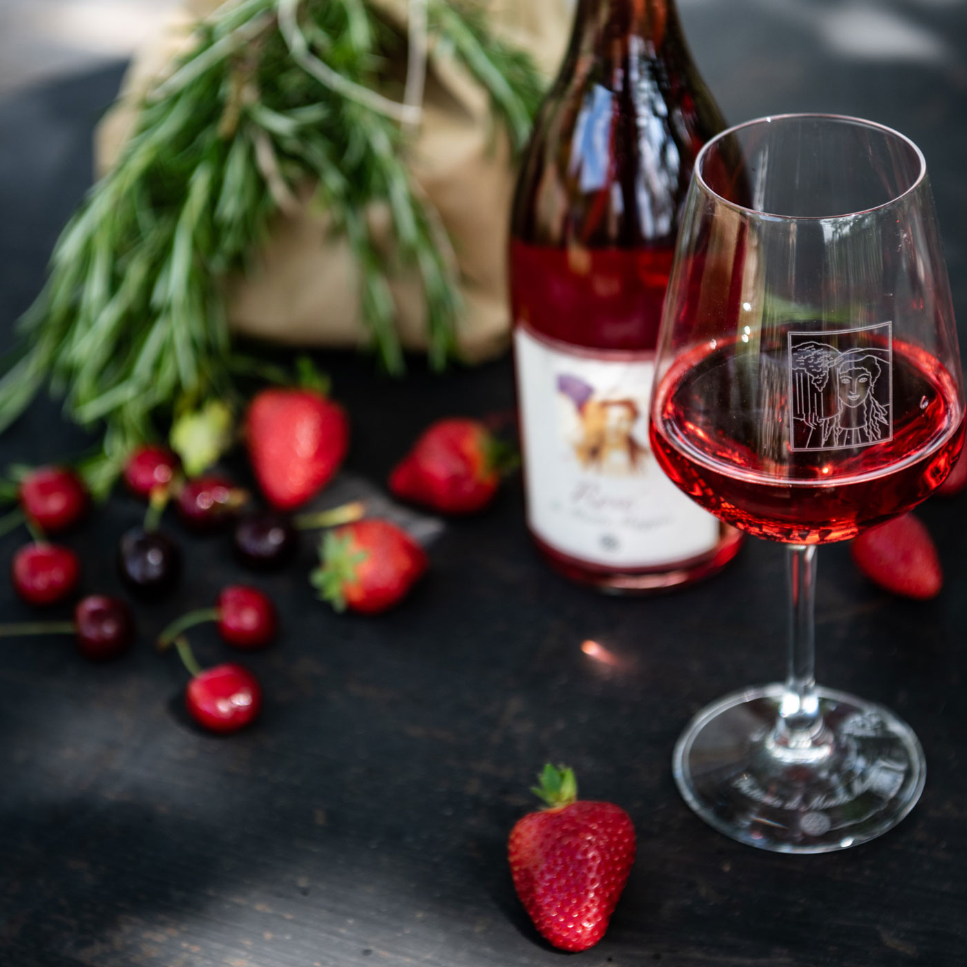 Rosé di Montemaggio has a fresh, light, dry and balanced palate