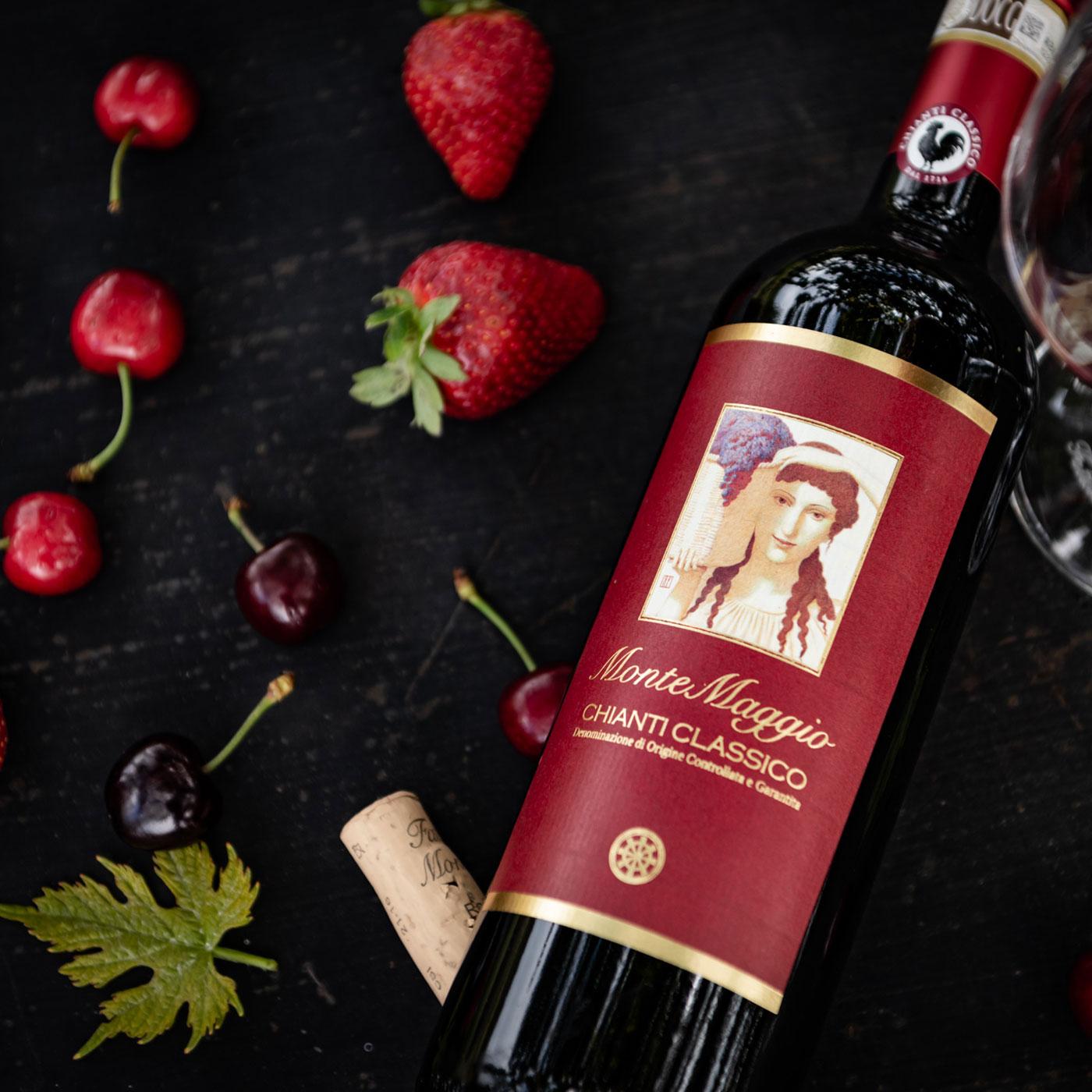 Chianti Classico Di Montemaggio Perfect Wine With Your First Course