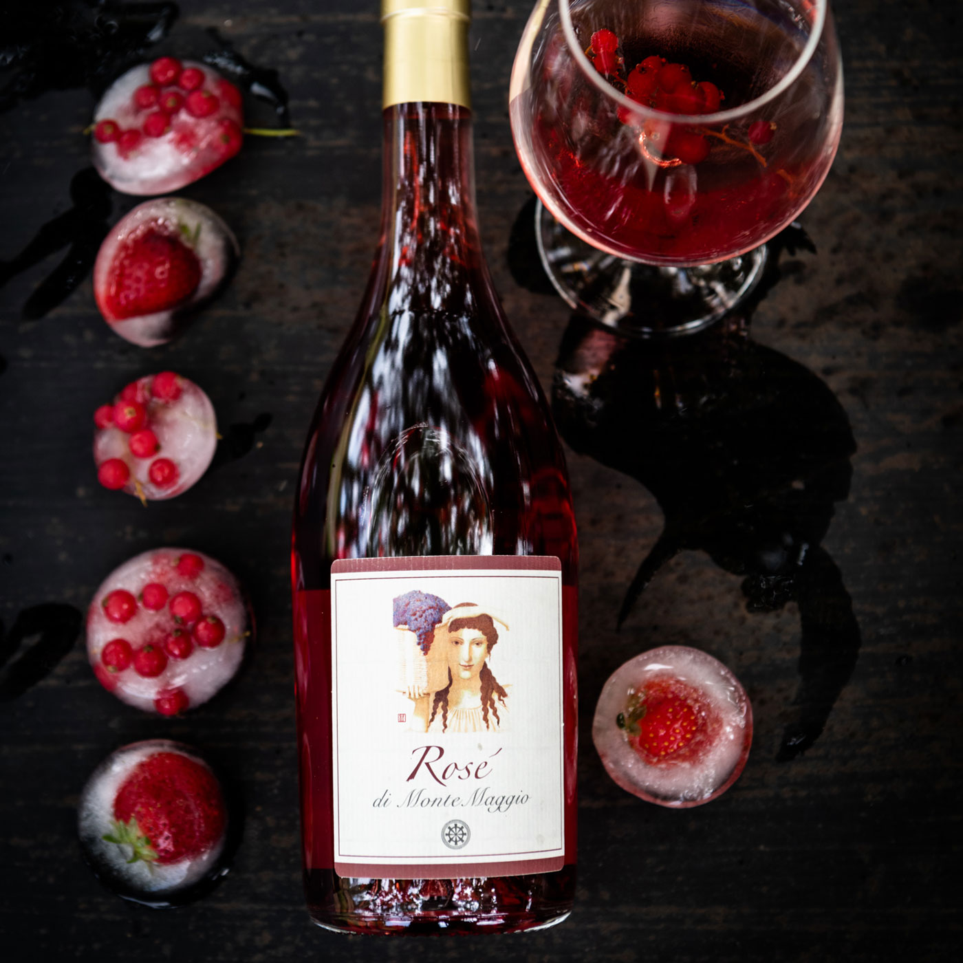 Fresh and light, Rosé di Montemaggio is great as an aperitif