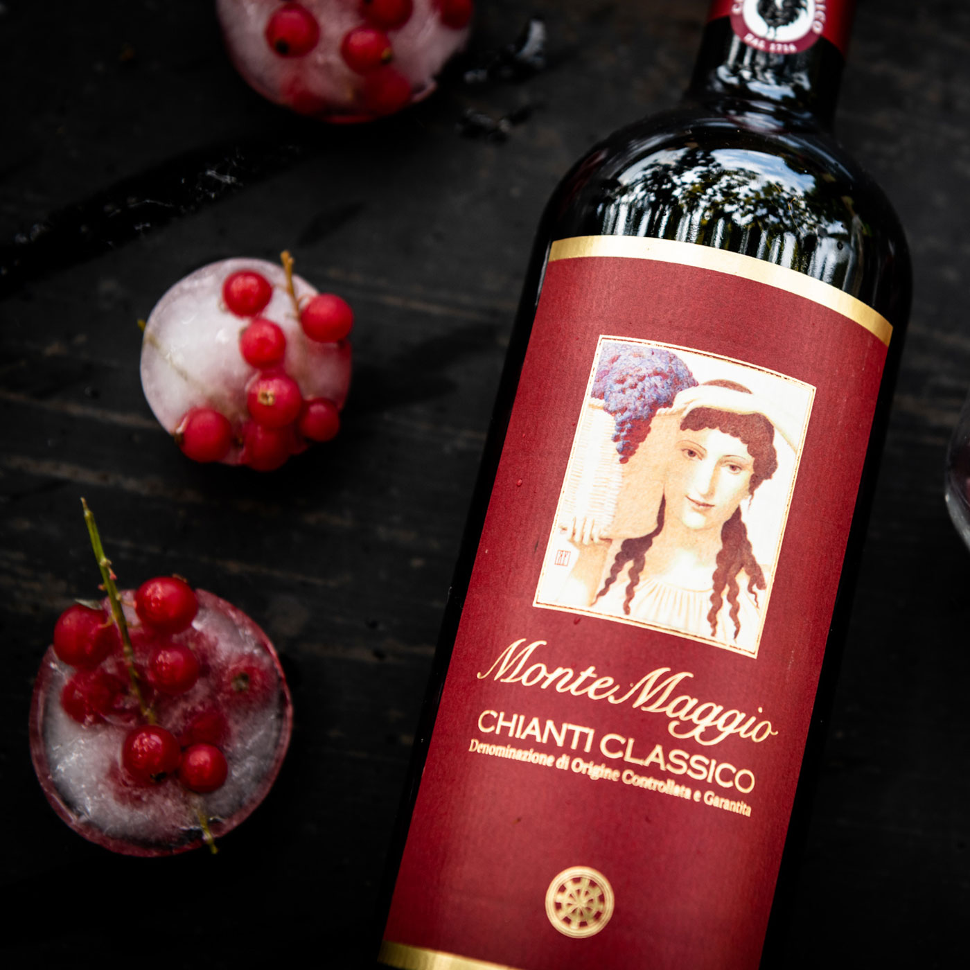 Enjoy Chianti Classico red wine from a Tuscany vineyard