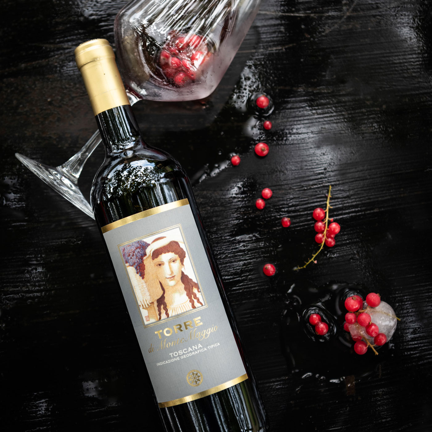 Torre di Montemaggio is a red Tuscan wine which was one of the first wines at Montemaggio