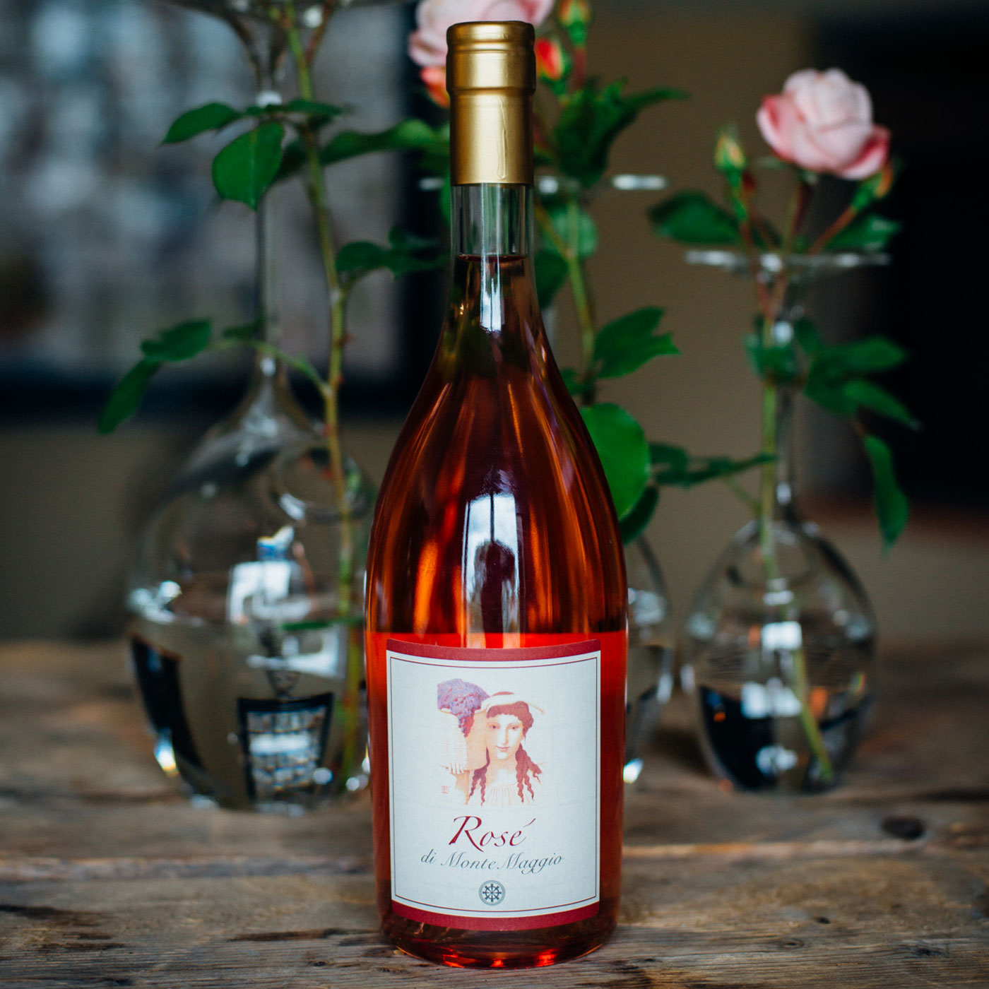 Take Italy home with you by ordering a bottle of Rosé di Montemaggio