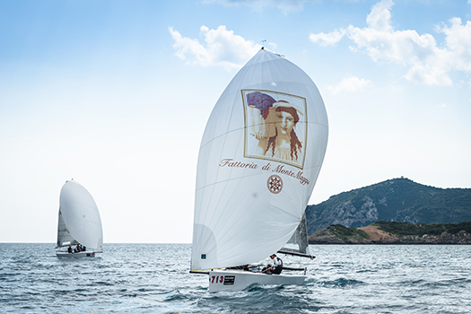 Fattoria di Montemaggio is the sponsor of Synergy GT in the Sailing Series®