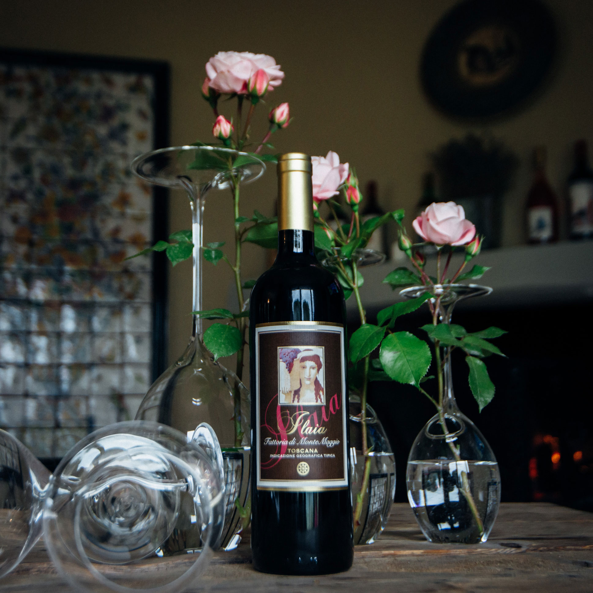 Order Ilaia di Montemaggio - perfect ruby red wine which goes great with meat, game and cheese pairing.