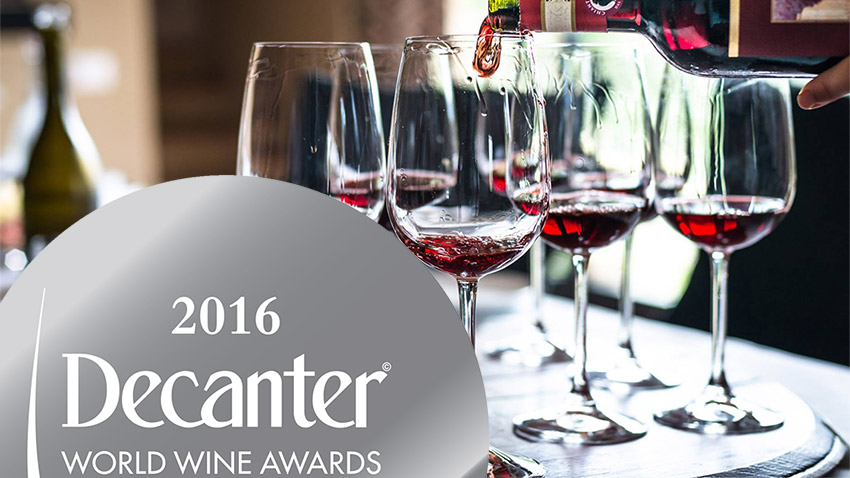 Our Decanter World Wine Awards winning wines