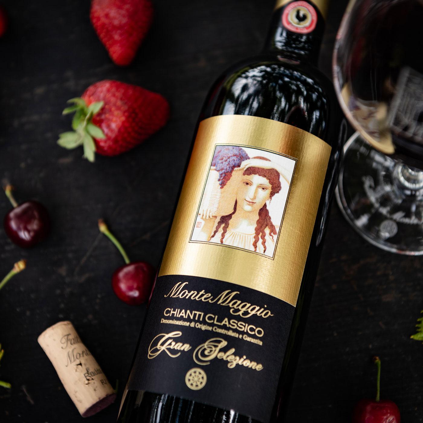 Order this Sangiovese rich elegant wine - Chianti Classico Gran Selezione di Montemaggio