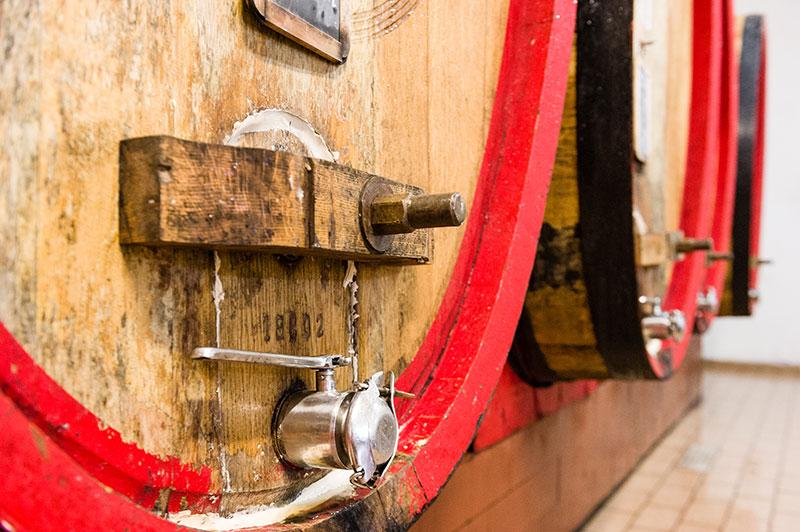 Wine Oak Barrels - Fattoria di Montemaggio