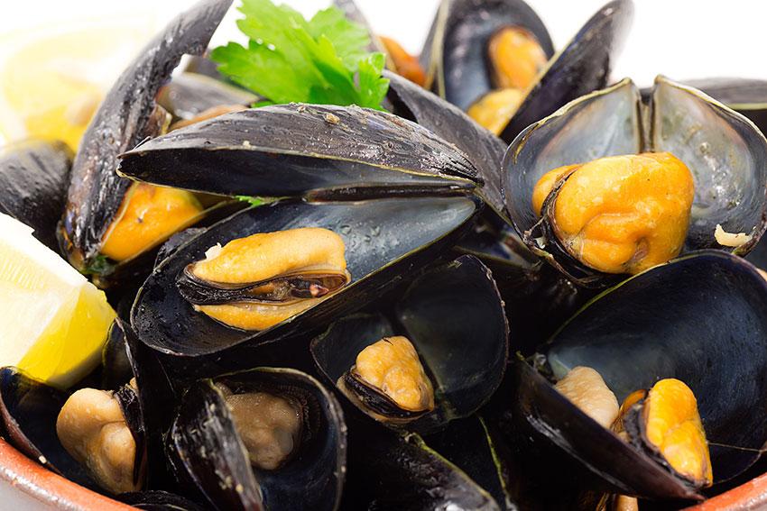 Impepata di cozze (mussels)