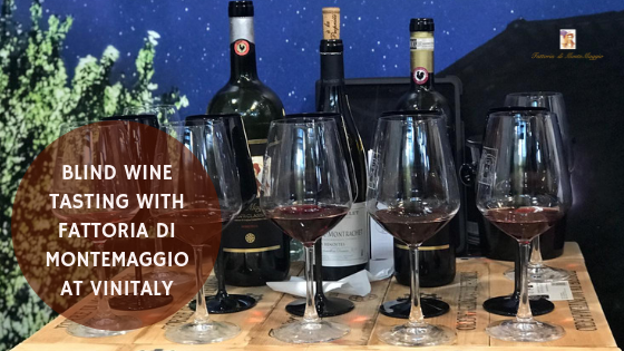 Blind Wine Tasting With Fattoria Di Montemaggio At Vinitaly