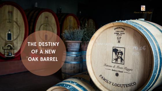The Destiny of a New Oak Barrel