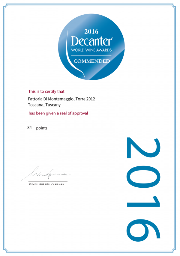 Decanter World Awards 2016