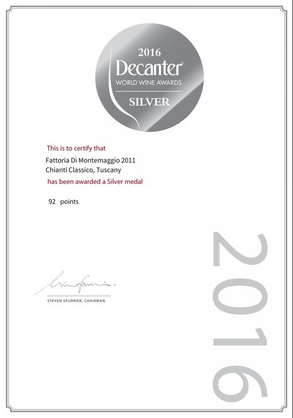 Decanter World Awards 2016
