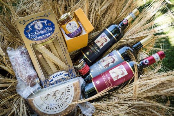 Weihnachtsgeschenke aus Chianti