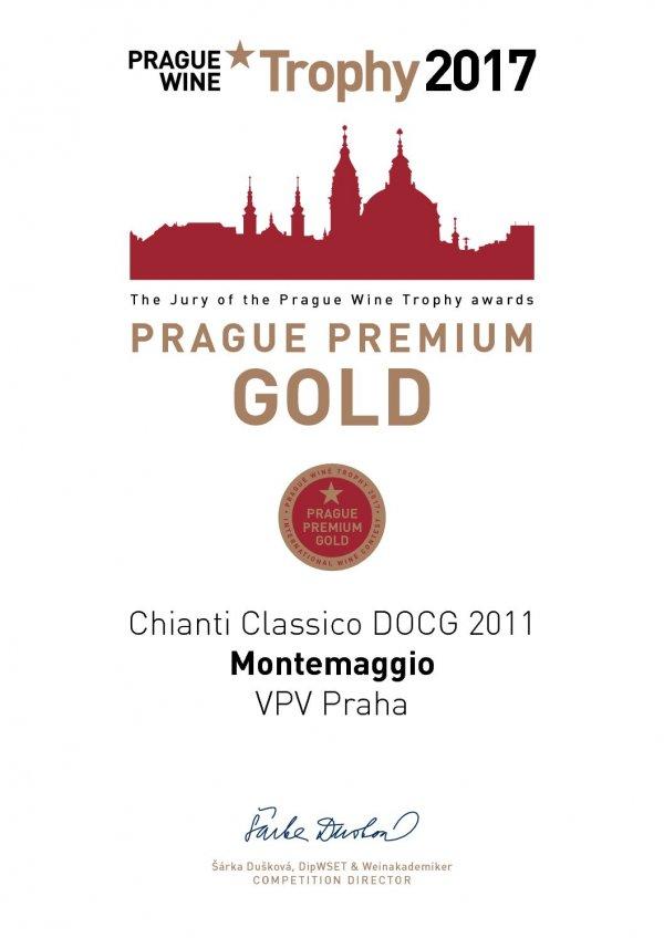 Prague Premium Gold - International Wine Contest